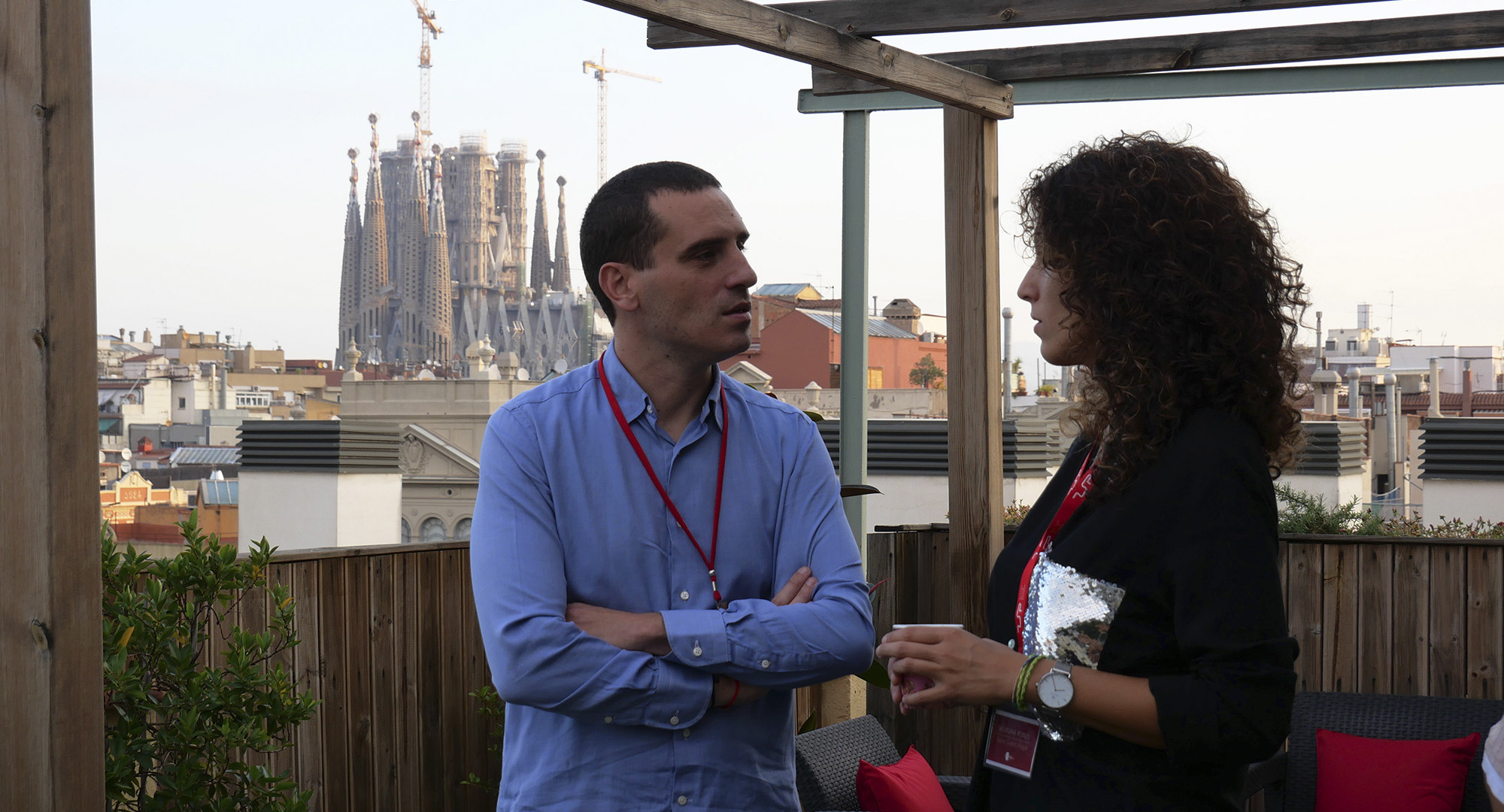 Melisa Terriza y Joan Pau Fisas