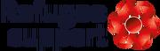 Logo Refugee support - Colaboración con los refugiados de Siria